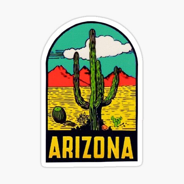Autocollant Vintage Arizona Arizona State Sticker