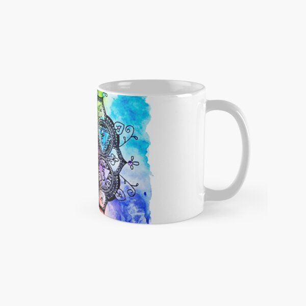 Rainbow Chakras Painting Classic Mug