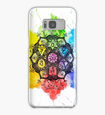Rainbow Chakras Painting Samsung Galaxy Case/Skin