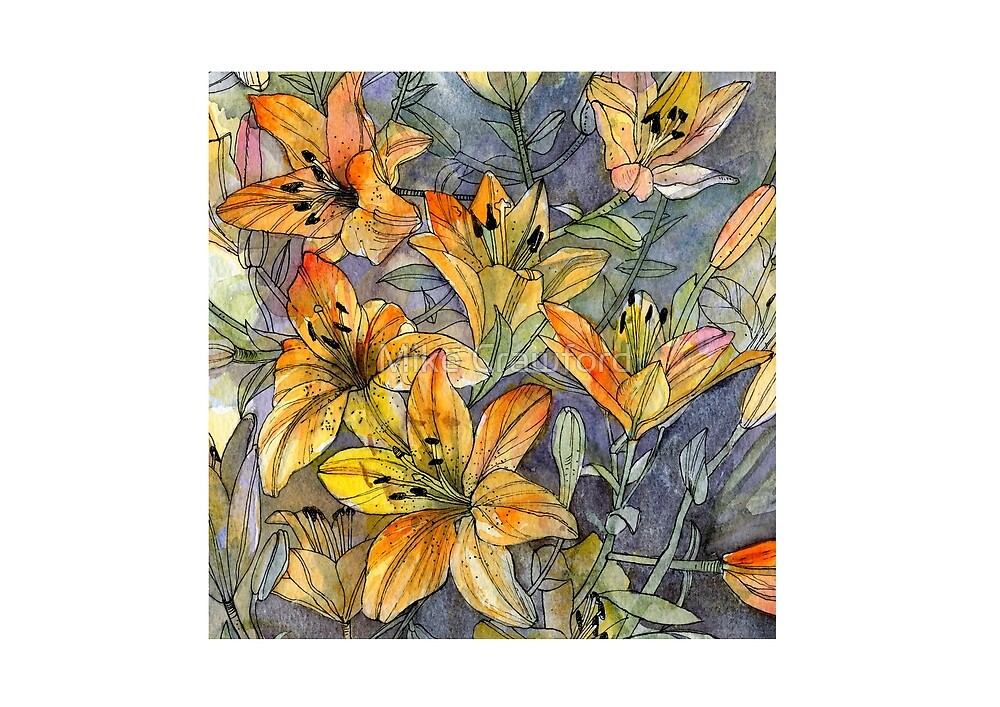 Lillies by Mike Crawford