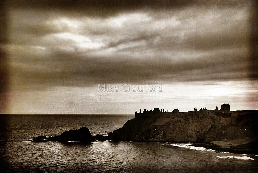 Dunnottar Castle by Mike Crawford
