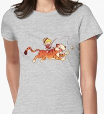 Calvin and Hobbes Women's Fitted T-Shirt