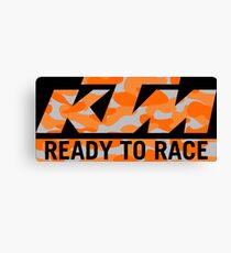 KTM Camouflage Canvas Print