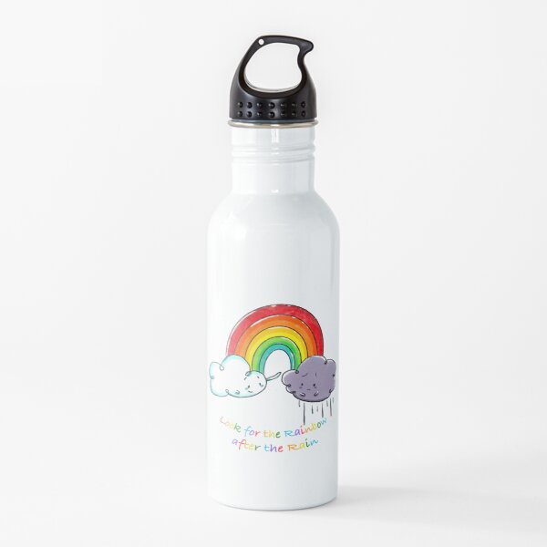 Look for the Rainbow after the Rain Water Bottle