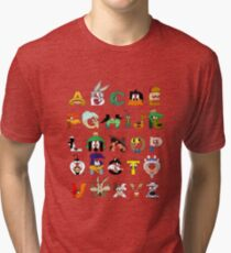 That's Alphabet Folks Tri-blend T-Shirt