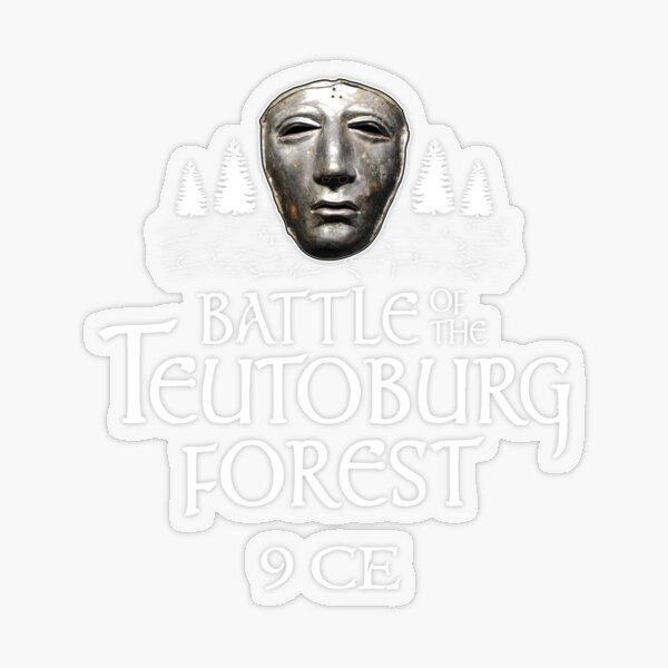 Schlacht im Teutoburger Wald Transparenter Sticker