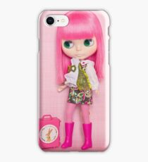 Lola is off on her travels iPhone Case/Skin