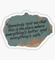 This is the Place Sticker