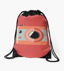 Retro Camera Drawstring Bag