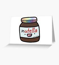NUTELLA Greeting Card