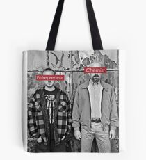 The Chemist and the Entrepreneur - Breaking Bad Tote Bag