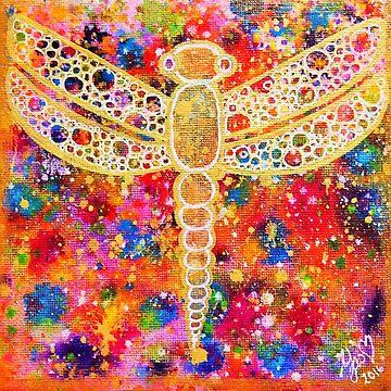 Dragonfly of Joy by YasminChambers