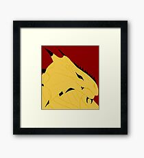 Magnus, Dragonborn Pirate Framed Print