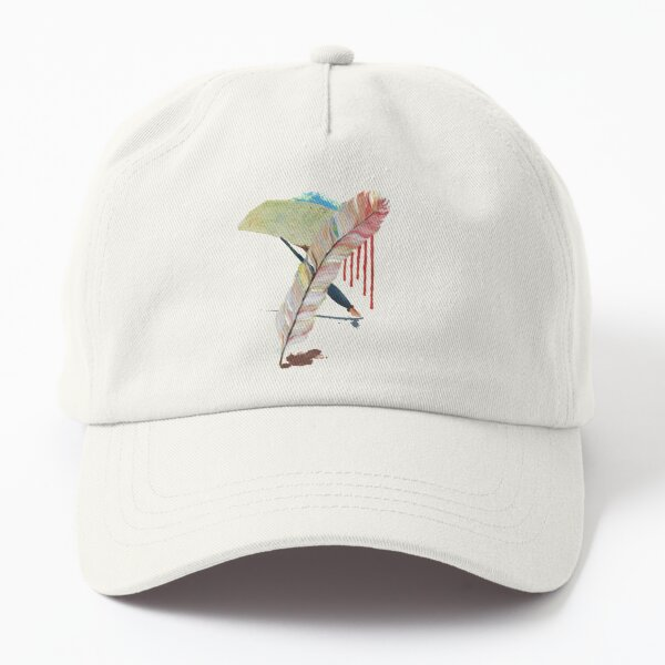 The dream of a feather Writer Dad Hat