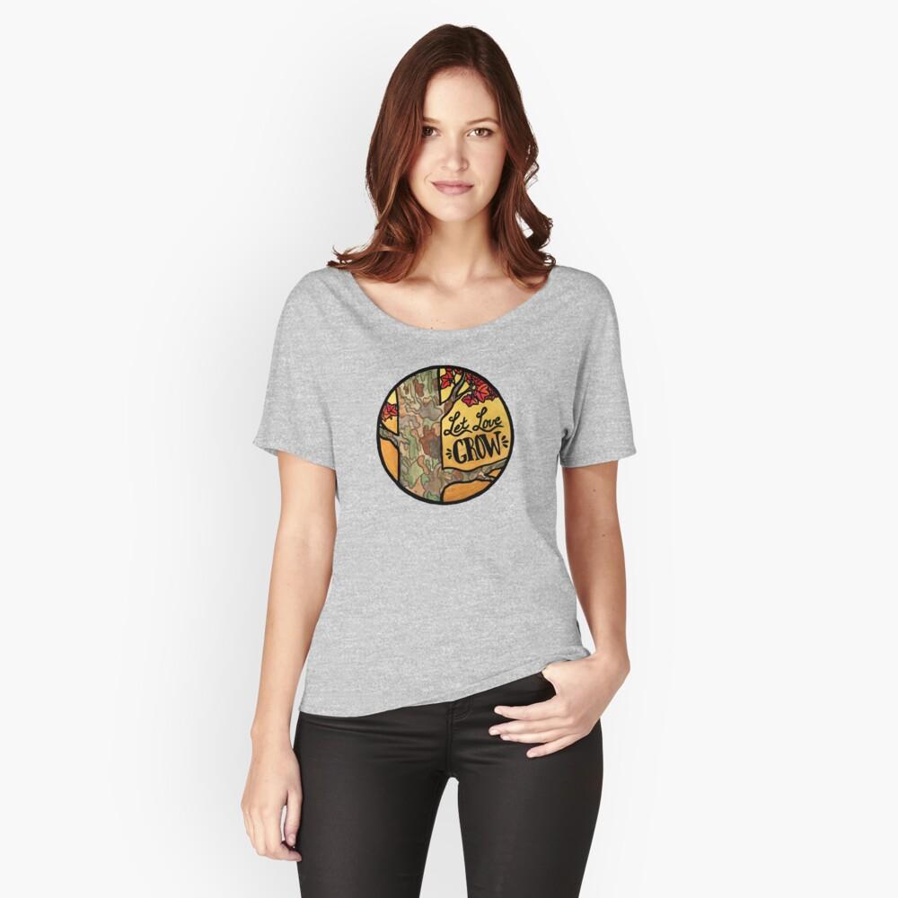 Lass Liebe wachsen Loose Fit T-Shirt