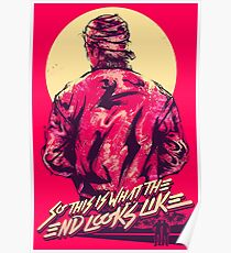 hotline miami jacket Poster