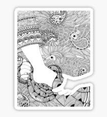 Servant Leadership - duco divina doodle Sticker