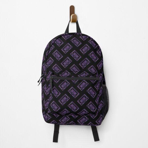3D Cassette (black) Backpack