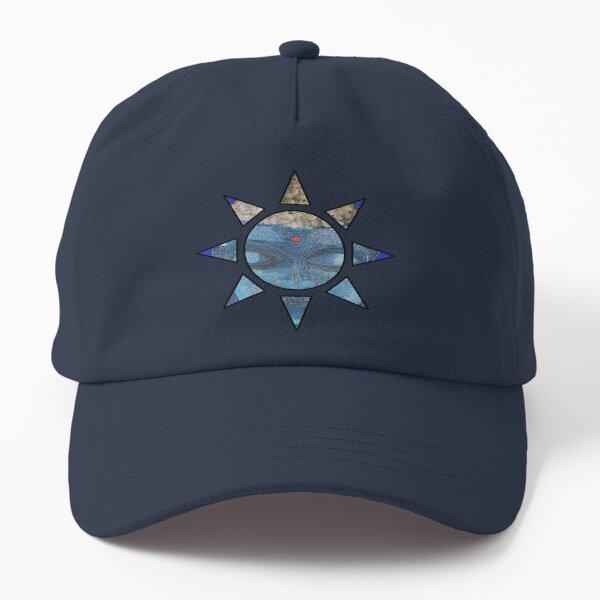 Blue Buddha Sun Logo Dad Hat