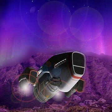 spaceships 2 by RobertLuxford