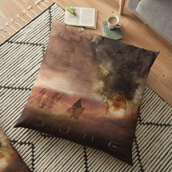 Dune 2020 Battle On Arrakis Floor Pillow