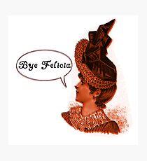 Vintage Bye Felicia  Photographic Print