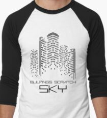Buildings Men's Baseball ¾ T-Shirt