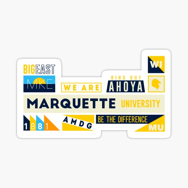 Marquette University Sticker