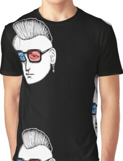 Captain Punk 3D Graphic T-Shirt