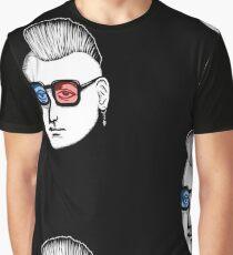 Captain Punk 3D Graphic T-Shirt