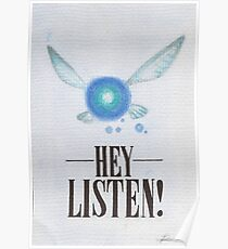 Hey, Listen! Poster