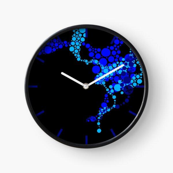 Blue Dreams Clock