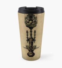 Sepia Stains - Ace of Wands Travel Mug