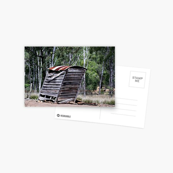The Aussie Dinkum Dunny  Postcard