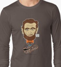 Wolfraham Lincoln Long Sleeve T-Shirt