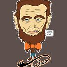 Wolfraham Lincoln by Octochimp Designs