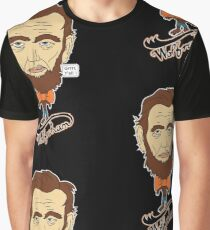 Wolfraham Lincoln Graphic T-Shirt