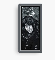 """Neil Young""  Canvas Print"