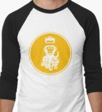 Octochimp - single colour Men's Baseball ¾ T-Shirt