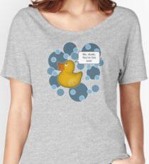 ♥ Rubber Ducky ♥ Women's Relaxed Fit T-Shirt