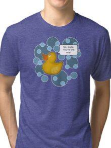 ♥ Rubber Ducky ♥ Tri-blend T-Shirt