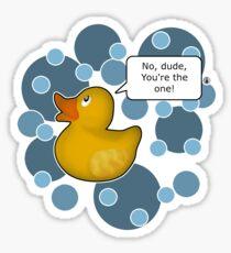 ♥ Rubber Ducky ♥ Sticker