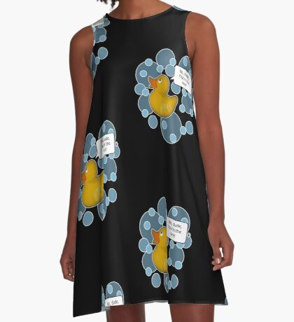 ♥ Rubber Ducky ♥ A-Line Dress