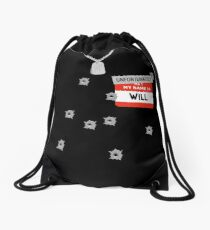 Fire at Will ! Drawstring Bag