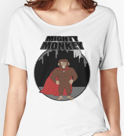 Mighty Monkey Women's Relaxed Fit T-Shirt