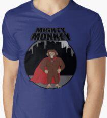 Mighty Monkey Mens V-Neck T-Shirt