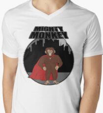 Mighty Monkey Men's V-Neck T-Shirt