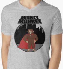Mighty Monkey Men's V-Neck T-Shirt