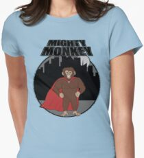 Mighty Monkey Womens Fitted T-Shirt