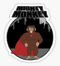 Mighty Monkey Sticker